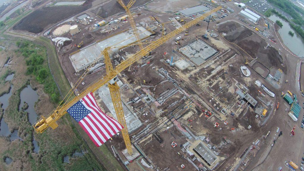 Woodbridge Crane Flag
